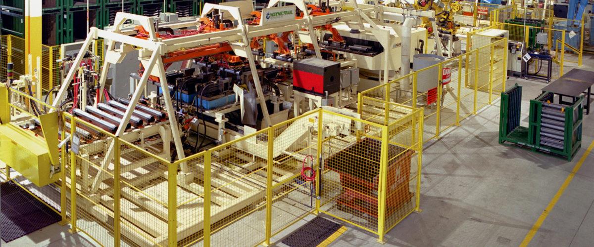 tubular hydroform assembly line, robotic integration