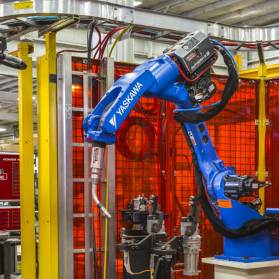 AutoDrive S Robotic Wire feeder, custom system integration