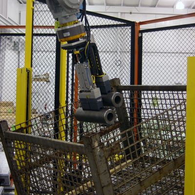 robotic material handling at wayne trail