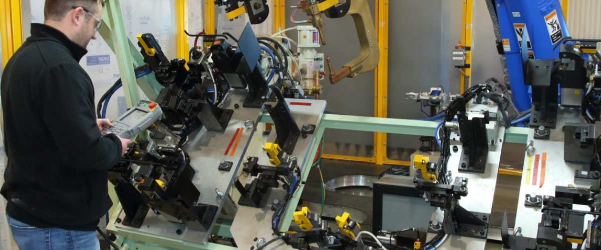 robotic welding and system integration