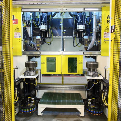 laser powertrain welding system