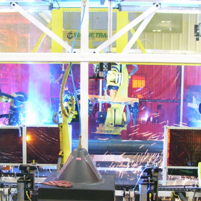 Custom Robotic Welding System, Wayne Trail