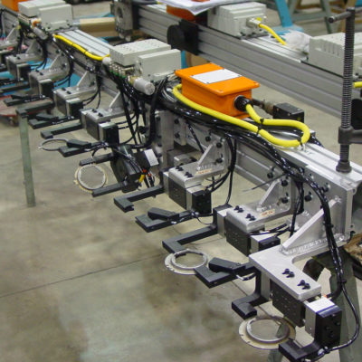 Press automation gripper tooling